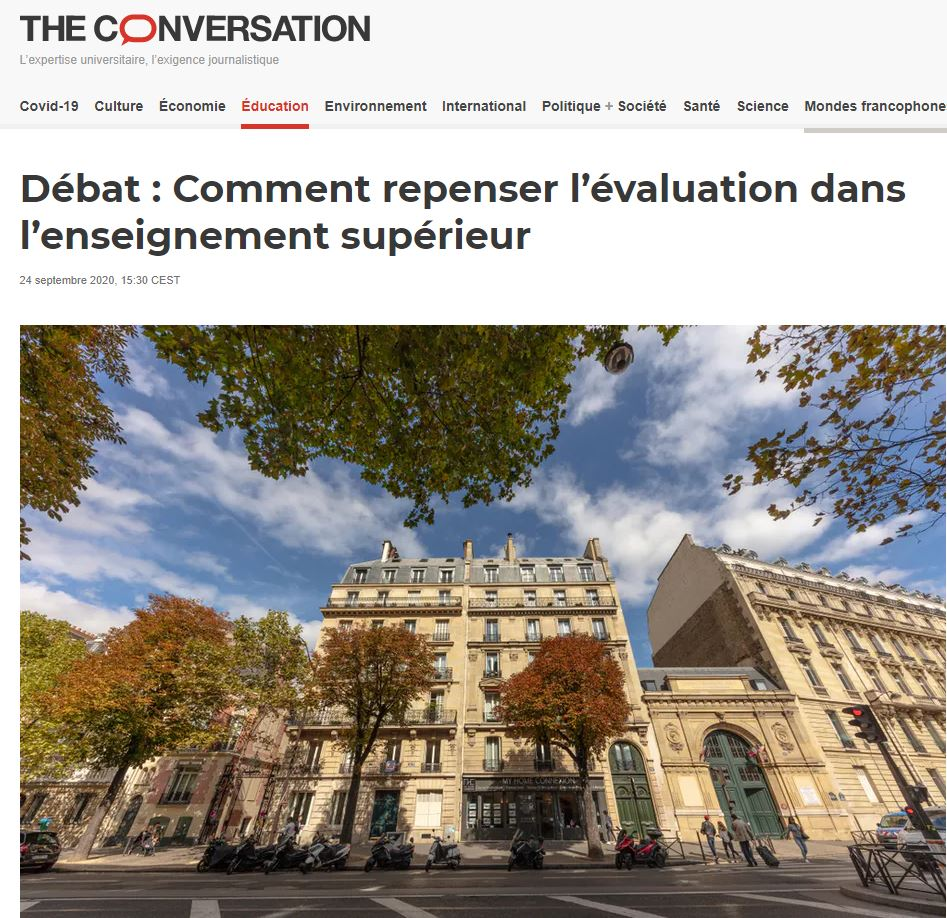 theconversation evaluationensup 24092020